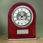 Arch Clock with Exposed Gears in Chrome Arch Awards