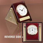 Reversible Clock Thermometer Boss Gift Awards