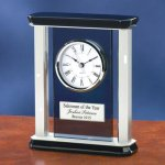 Smoke Glass with Chrome Metal Executive Gift Awards