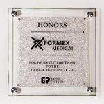 Star Fire Glass Plaque Sales Awards